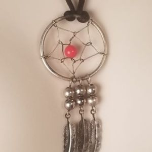 Jewelry - Silver American Indian Dream Catcher Necklace